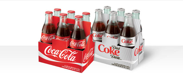 Coca-Cola® 6-pack glass bottles coupon