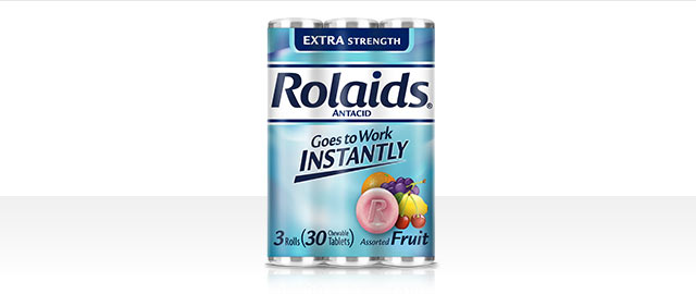 At Target: Rolaids® Antacid 3-Roll Pack coupon