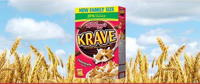 Buy 2: Kellogg's* Krave™ Cereal coupon
