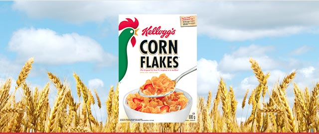 Buy 2: Kellogg's* Corn Flakes* cereal coupon