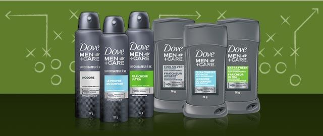 Dove Men+Care® Antiperspirant or Deodorant coupon