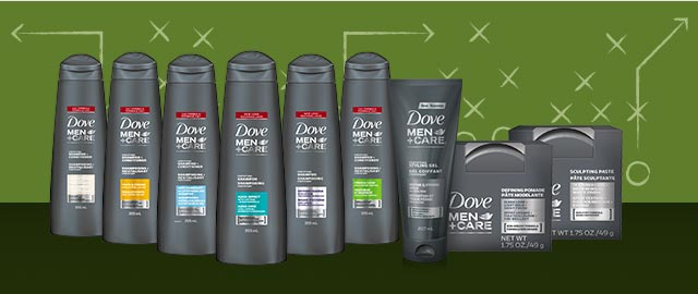 Dove Men+Care® hair care products coupon