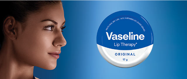 Vaseline Lip Therapy® Original tins coupon