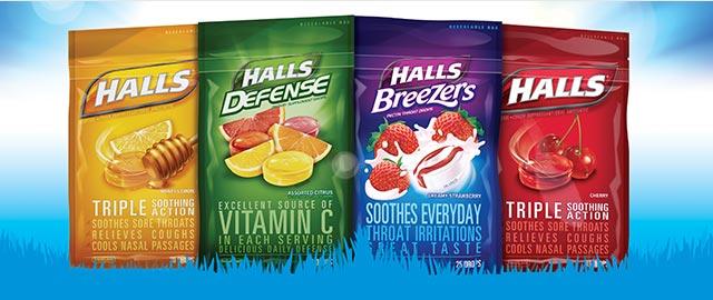Buy 2: HALLS Bags coupon