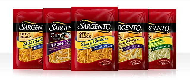 Sargento® Shredded Cheese coupon