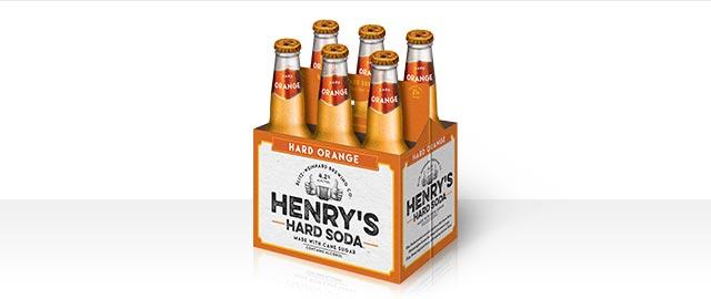 Henry's Hard Orange 6-pack coupon