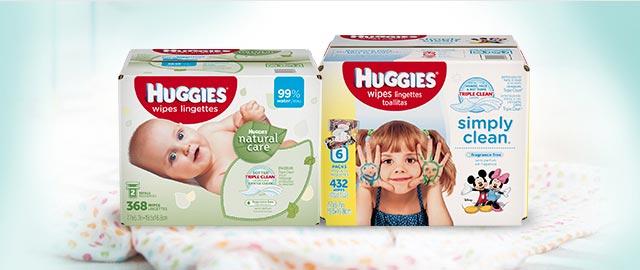 Buy 2: Select Huggies® Wipes coupon