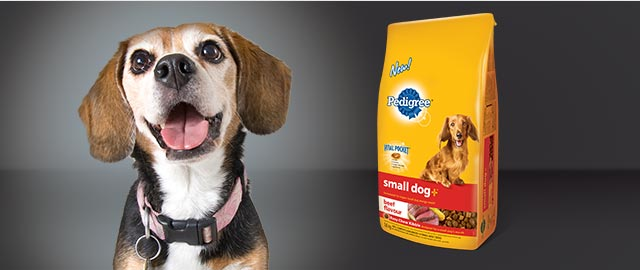 PEDIGREE SMALL DOG+™ Food for Dogs coupon