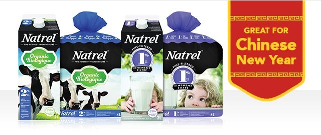 Natrel 2L or 4L Milk coupon