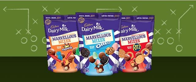 Buy 2: Cadbury® Dairy Milk Marvellous Mixes coupon