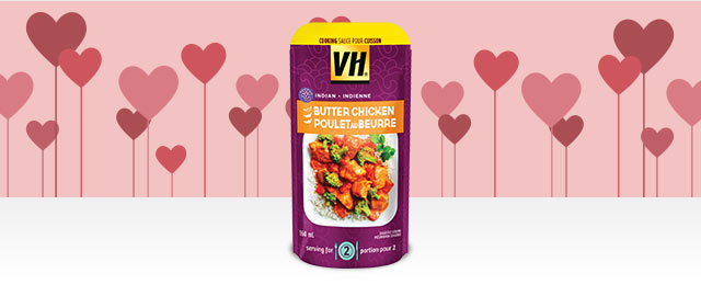 VH® Perfect for Two Butter Chicken Cooking Sauce coupon