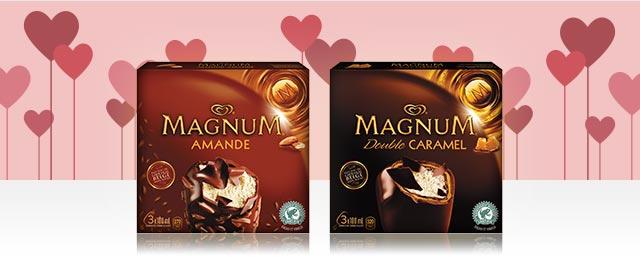 Magnum® barres de crème glacée coupon