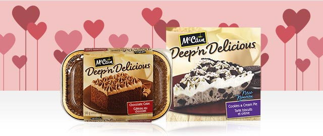 Dessert Deep 'n Delicious® de McCain®  coupon