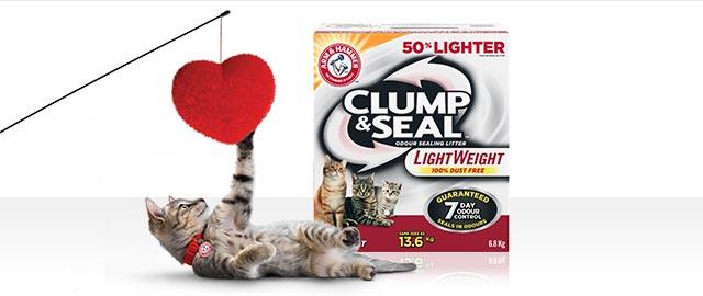 Arm & Hammer™ Clump & Seal™ Lightweight Cat Litter coupon