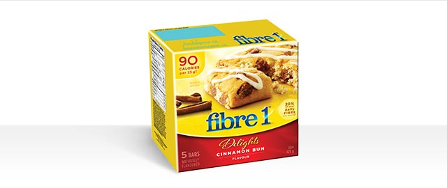 Fibre 1* Delights Cinnamon bun  coupon