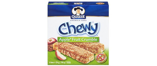 (FR) Quaker Chewy granola bars coupon