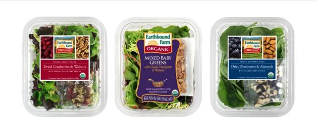 Earthbound Farm organic salad coupon