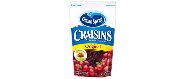 Ocean Spray Craisins coupon