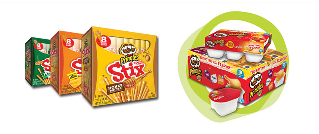 Pringles* Stix and Snack Stacks coupon