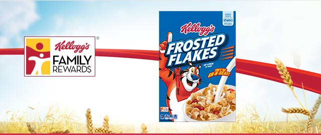 Buy 2: Kellogg's® Frosted Flakes® Cereals coupon