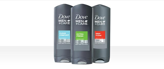 Dove Men+Care® body wash coupon