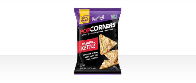 At Walmart: Popcorners Carnival Kettle  coupon