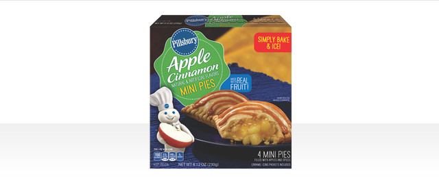 Pillsbury™ Apple Cinnamon Mini Pies coupon