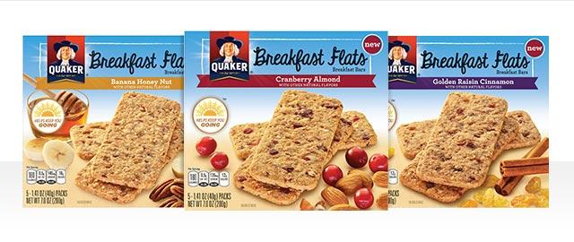 Quaker® Breakfast Flats coupon
