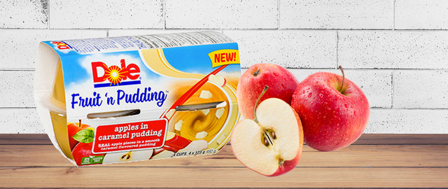 Dole Fruit 'N Pudding Apples in Caramel Pudding coupon