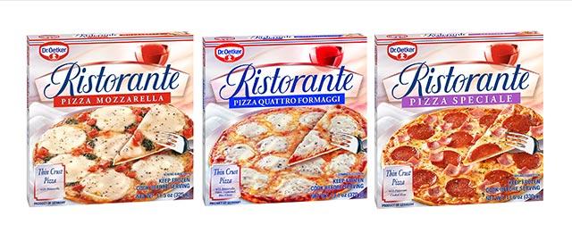Dr Oetker Ristorante Frozen Pizzas coupon