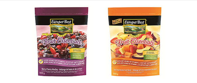 Europe's Best frozen fruit coupon