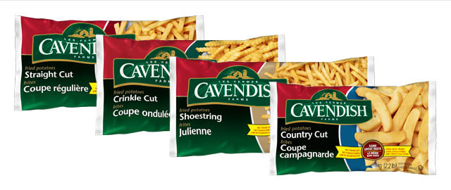 Cavendish Farms Fries coupon