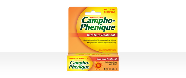 Campho-Phenique® Cold Sore Treatment  coupon