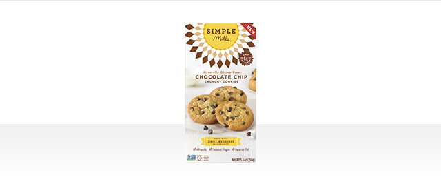 Simple Mills Chocolate Chip Crunchy cookies  coupon