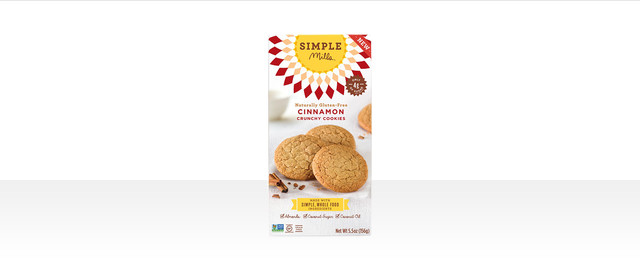 Simple Mills Cinnamon Crunchy cookies coupon