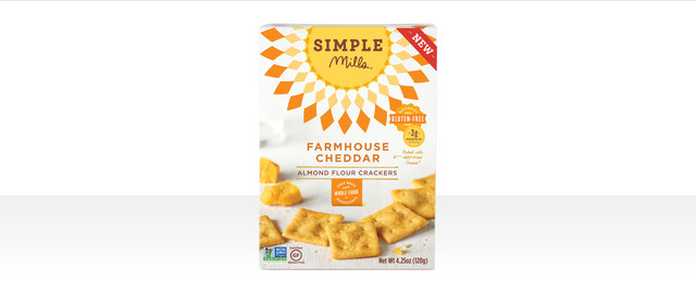 Simple Mills Farmhouse Cheddar crackers  coupon
