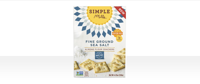 Simple Mills Fine Ground Sea Salt crackers coupon