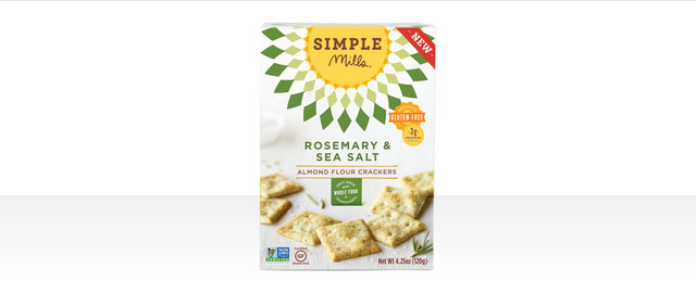 Simple Mills Rosemary & Sea Salt crackers coupon