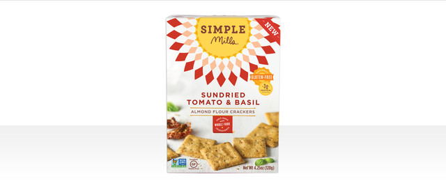 Simple Mills Sun-Dried Tomato & Basil crackers coupon