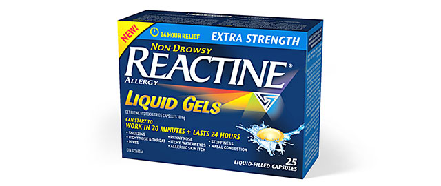 REACTINE® coupon