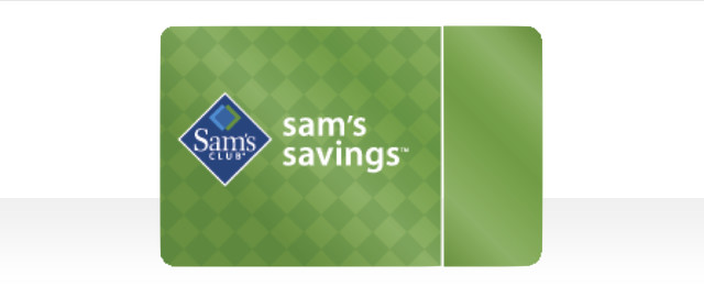 Sam's Club Savings membership* coupon