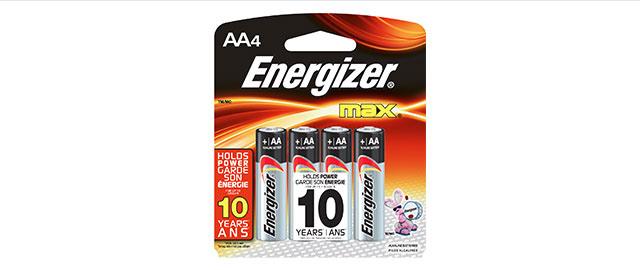 Energizer® MAX® coupon
