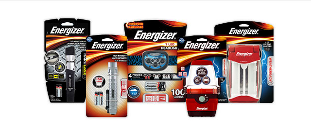 Energizer® Lighting Buy any product over $15 coupon
