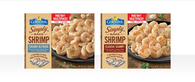 At Walmart: Gorton's Simply Bake Shrimp - Multipack coupon