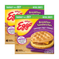 Walmart_Buy 2: Kellogg's® Eggo® Breakfast Sandwiches_coupon_23956