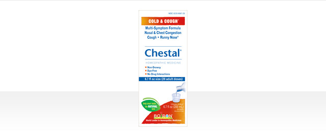 Chestal® Cold & Cough coupon