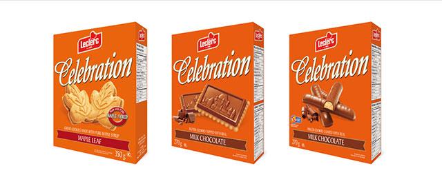 Leclerc Celebration cookies coupon