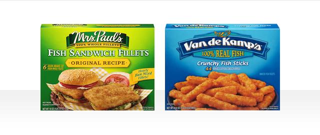 Mrs. Paul's or Van De Kamp's Fish coupon