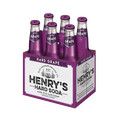 Quality Foods_Henry's Hard Soda 6-pack_coupon_24193