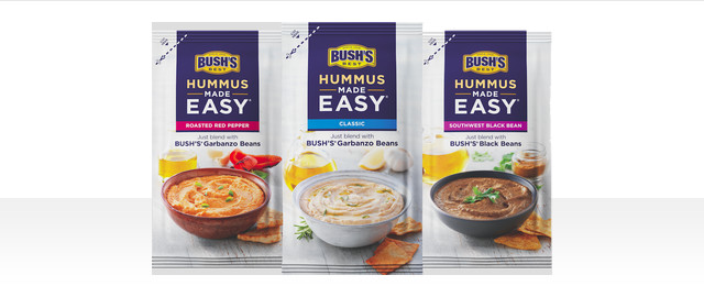 BUSH'S Hummus Made Easy® coupon